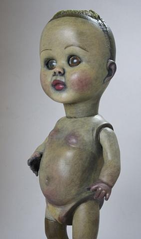 """""""Doll Girl"""" (Detail)"""