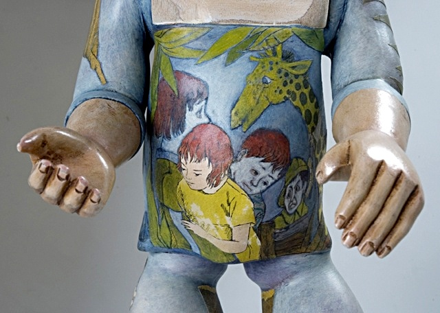 """""""Story Book Doll"""" (Detail)"""