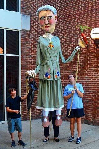 Beatrix Potter Processional Puppet