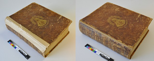 Repair of Book Collections