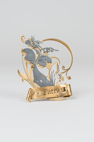 Patty B. Signature Brooch