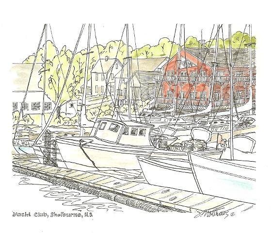 Shelburne Yacht Club,NS