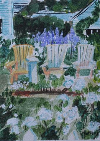 Garden in Shelburne, NS
