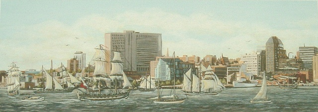 Halifax Tall Ships (Left)