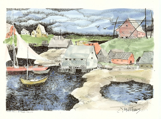 Storm Clouds, Peggy's Cove,NS