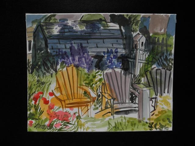Shelburne Nova Scotia garden