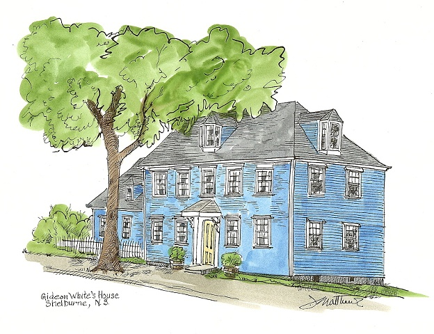 Gideon White's House, Shelburne,NS