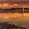 Eagle Mountain Lake, Sails at Sunset