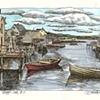 Peggy's Cove, Two Dories