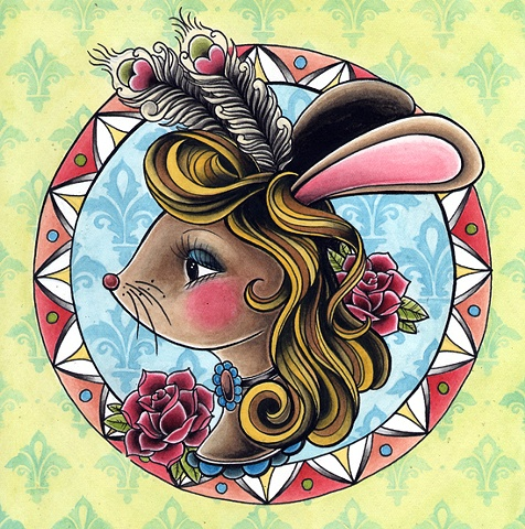 feather bunny