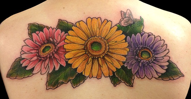 3 daisies
