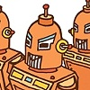 Bright Orange Robots