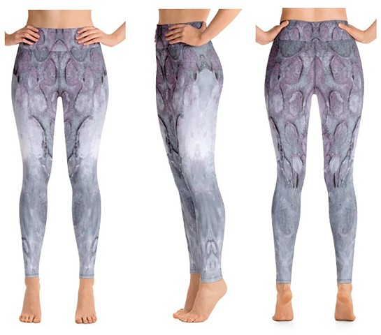 Purple Moon-scape Legging, DM size