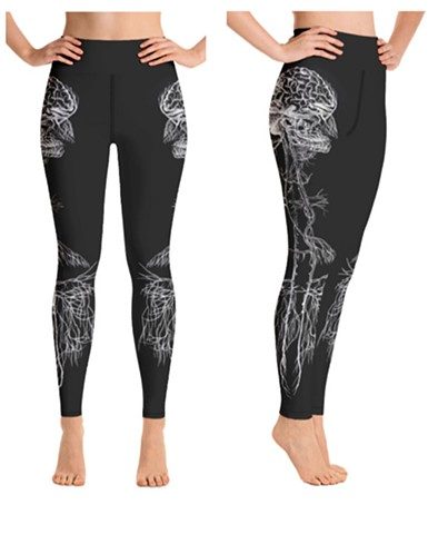 Poly-vagal Theory Legging
