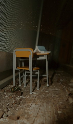 Abandoned Learning Diorama