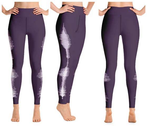 Purple Love Soundwave Legging, Flyfreak exclusive, DM for pricing