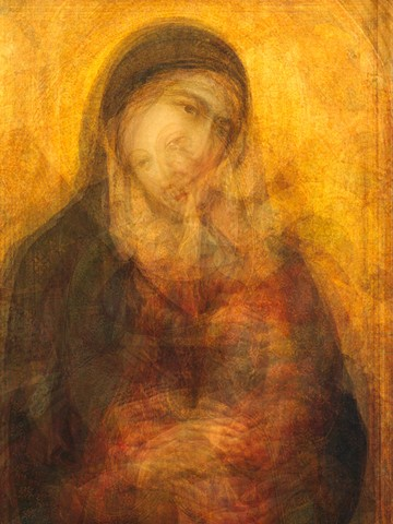 Madonna and Child portrait
