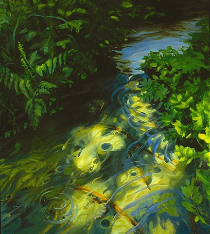 Creek in Sunlight