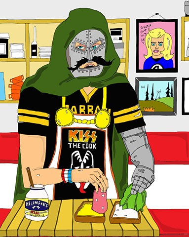 DR.DOOM MAKES A SANDWICH