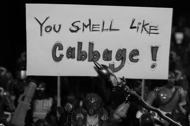 You Smell LIke Cabbage !