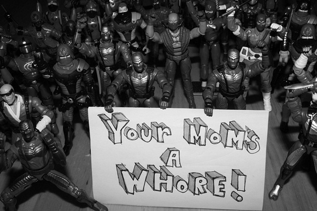 Your Mom's A Whore !