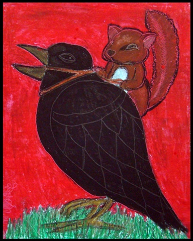Squirrel & The Crow