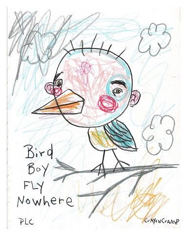 Bird Boy Fly Nowhere
