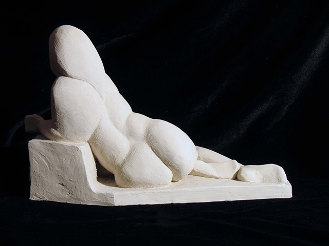 Abstract Reclining Woman