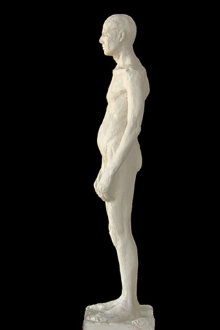 Male Figure Study 2, by sculptor Rivkah Walton