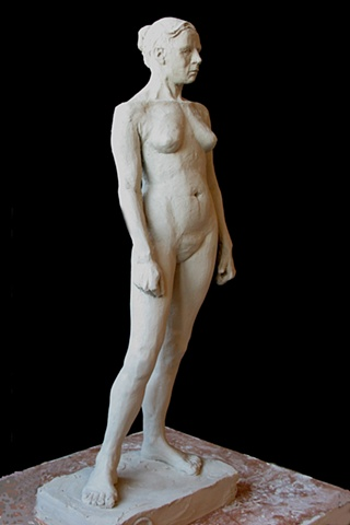 Female Figure Study 1, by sculptor Rivkah Walton
