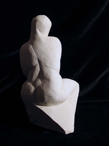 Abstract Seated Woman