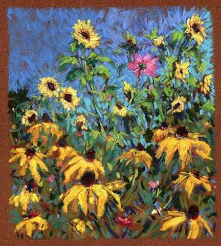 Sunflowers & Susans_ 7x6.5