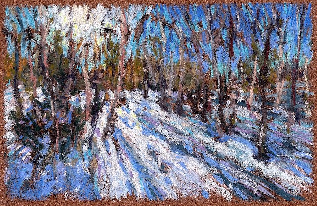 Winter Sun Shadows_4x6""