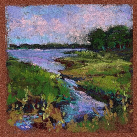 "a little more summer (5x5"")"