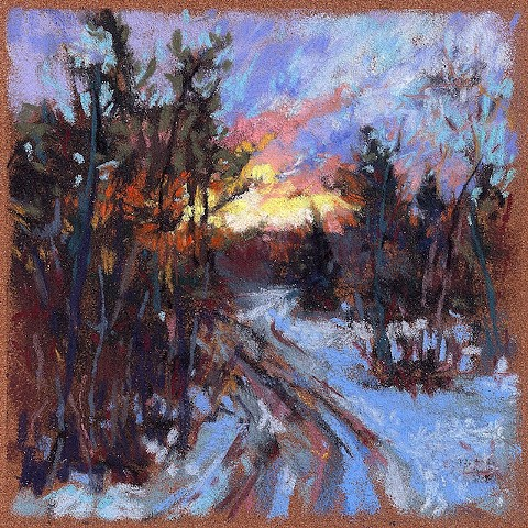 Winter: Catch the Sunrise _6x6
