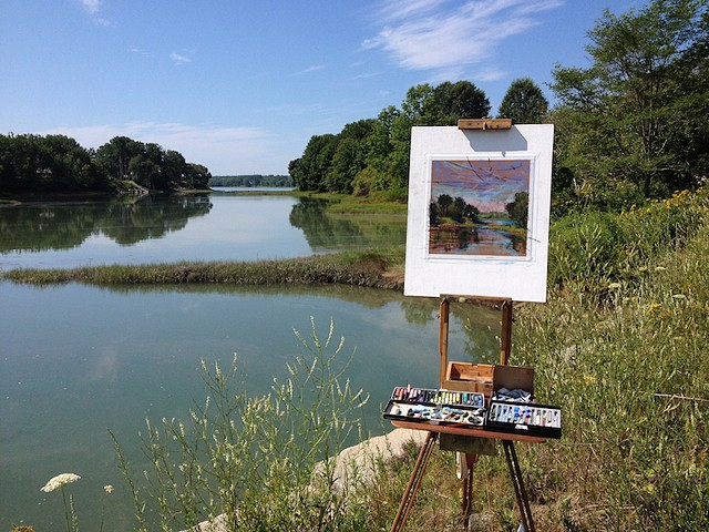 Plein Air, South Thomaston, Maine