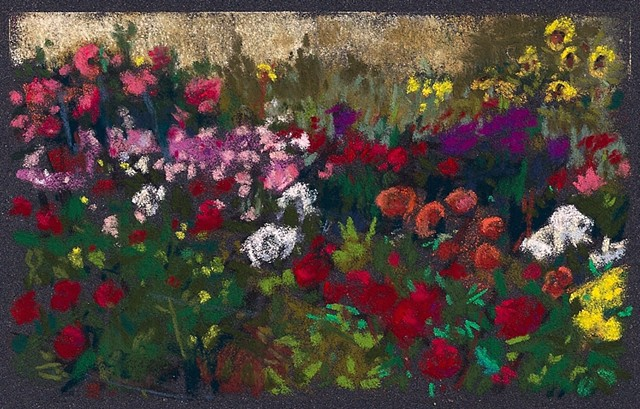 "Flower Garden at J's _4 x 6""- SOLD"