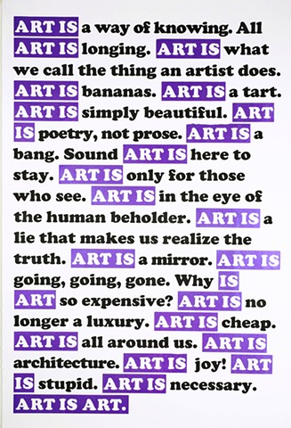 ART IS PURPLE