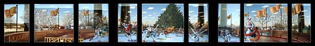 """Winter Cows '07 (""""Rocowfeller Center"""")"""