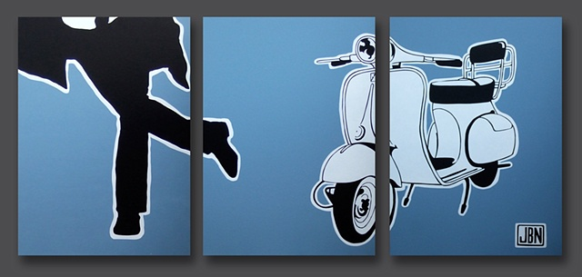 Vespa Pursuit