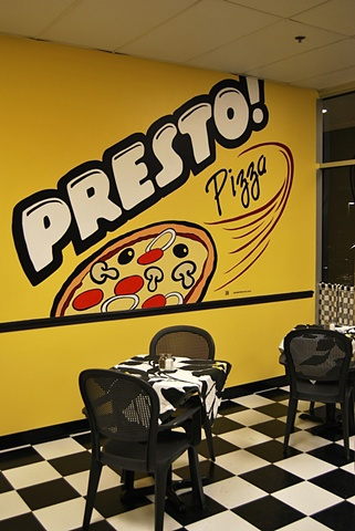 Presto! Pizza Interior