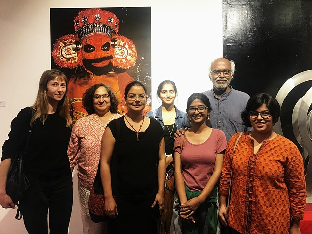 Bheti Bangalore Studio Visit  Founded in: October 2017  Studio Visits and Artist hosted by InkSpace Studio, Bangalore
