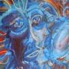 "Jason Northcutt's Bongo Cajon ""Wow"" Painting"