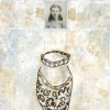Romanian Woman & Vase