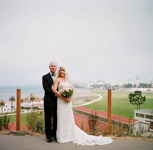 Wedding photos for San Francisco couple