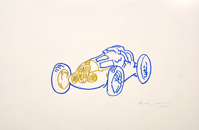 """Warhol Redux, From Litho Studies of the Mercedes Benz Series Commission"""