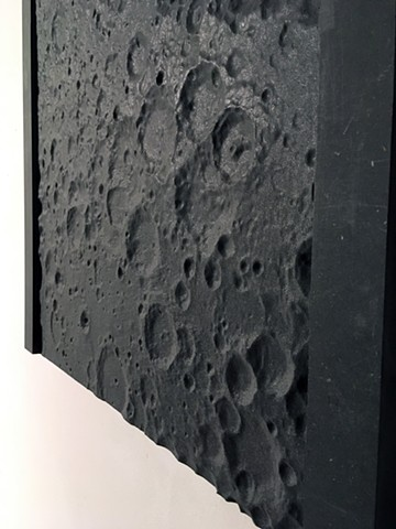 LUNAR TERRA and MARTIAN TERRA SCULPTURES
