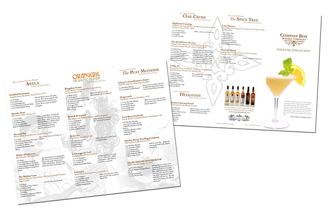 Compass Box Whisky cocktail collection