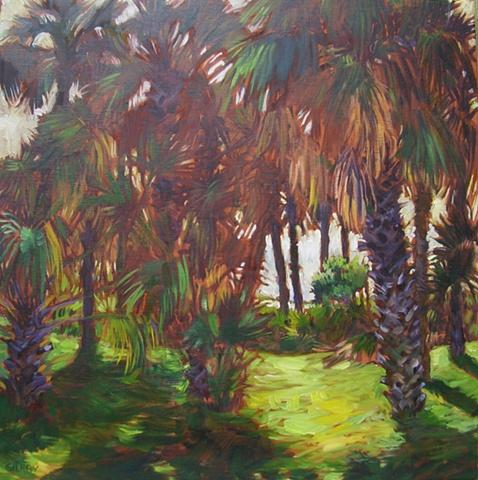 Bird Island palms