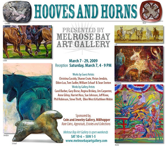 March 2009 - HOOVES & HORNS